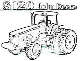 Farm Tractor Coloring Pages Trustbanksurinamecom