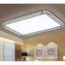 flush mount kitchen light plain on throughout rectangle led bedroom modern ceiling lights 24