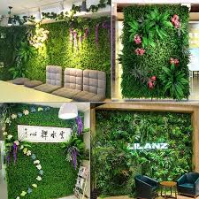 size 40cm 60cm square mat home decor simulation grass turf rug lawn outdoor flower wall