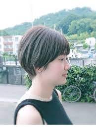 ハンサム ショート 前髪