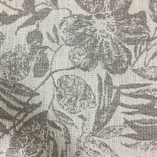 Small Picture Oaks Tropical Pattern Woven Upholstery Fabric by the Yard 6 Colors