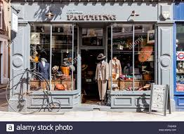 Thomas Farthing Clothes Shop, Museum Street, London, England - Stock Image