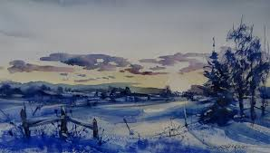 Six Secrets To Better Snow Scenes American Watercolor