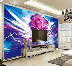 Beibehang Online Wholesale Wallpaper Dreamy Flowers Are Beautifully