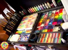 professional art kit 95 best face painting kits set up ideas images on