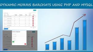 Create Dynamic Morris Bar Chart In Php Mysql