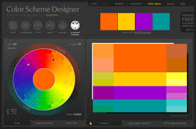 Another great tool for making color palettes is Color Scheme Designer 3. It  has all the standard features you would expect from a color palette tool,  ...