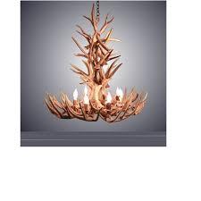 8 light xl whitetail antler chandelier