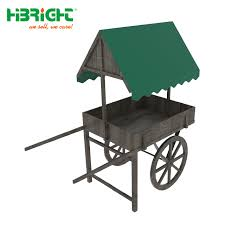 china supermarket commercial wagon style wooden display bakery rack china bakery display cart
