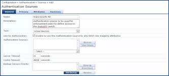Adding Active Directory As An Authentication Source To Clearpass