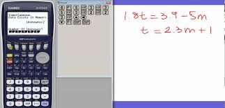 chic algebra calculator two equations for your using your casio graphics calculator to solve simultaneous