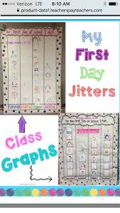 First Day Jitters Feeling Graph First Day Jitters First