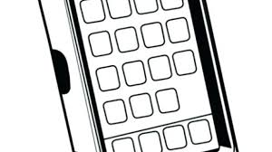 Mobile Phone Coloring Pages Cell Phone Coloring Pages Mobile Sheets