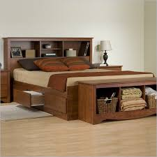 king platform storage bed. King Storage Bed Frame And Bench King Platform Storage Bed