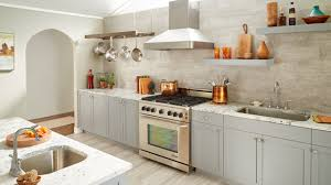 this kitchen features multiple design elements that are on trend for 2018 quartz countertops