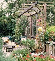 patio ideas to reuse and recycle old wood doors and windows