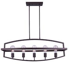 merla 5 light chandelier 60 w oil rubbed bronze