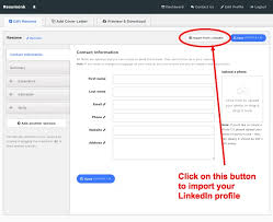... Sensational Ideas Upload Resume Linkedin 12 Convert Your LinkedIn  Profile To A Beautiful ...