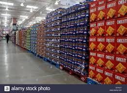 snacks aisle at costco business center hackensack new jersey usa snacks aisle at costco business center hackensack new jersey usa