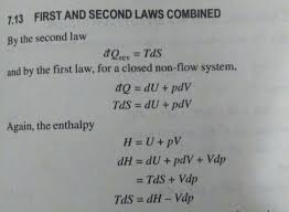 first law defined for closed system to steady flow energy equation enter image description here