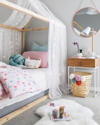 beds for girls room. Interesting Room Frame House Bed With A Tulle And Lights Canopy For Some Privacy Inside Beds For Girls Room