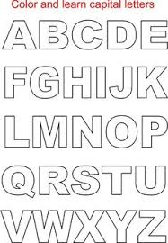 Printable Letter Templates 6 Inch Letters Printable Responses To Small Printable Pdf Alphabet