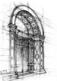 rough architectural sketches. Contemporary Rough Sketch 7 And Rough Architectural Sketches