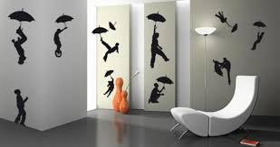 Small Picture Silhouette Artworks Inspiring Creative Wall Decoration for Teenage