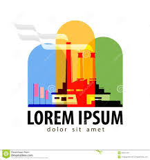 Design And Industry Factory Vector Logo Design Template Industry Or Stock