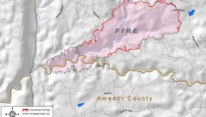California King Fire Near Pollock Pines Wildfire Today