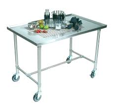 stainless steel cart with wheels cart on wheels end table on wheels stainless steel top for