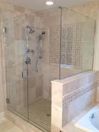 cost of frameless shower door cost of glass shower door replacement best frameless glass shower