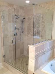cost of frameless shower door glass replacement