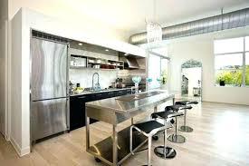 Kitchen Wall Island Galley Kitchen Islands Design Building Kitchen Magnificent One Wall Kitchen Designs Set