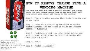 Dasani Vending Machine Hack Codes Delectable Vending Machine Hack Australia Mini Sluice Box