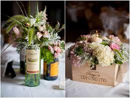 flower arrangements in wine bottles - Google Search
