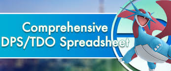 Comprehensive Dps Tdo Spreadsheet Pokemon Go Wiki Gamepress