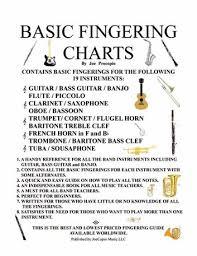 Piccolo Flute Finger Chart Basic Fingering Charts