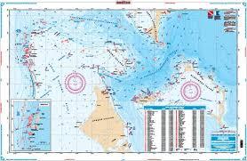 Northern Bahamas Bathymetric Fishing Fishing Map