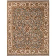 classic oriental grey ivory wool area rug voltaire classic oriental grey