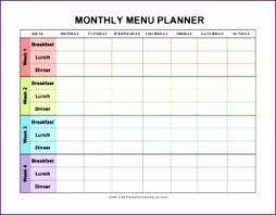 monthly meal planner template monthly food planner template roberto mattni co