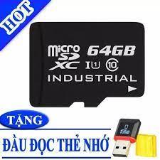 Thẻ nhớ micro sd 64gb hàng đủ chuẩn class 10 - thẻ nhớ micro sd 64gb giá rẻ