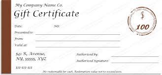 Printable Christmas Gift Certificates Templates Free Enchanting Jolly Simple Christmas Gift Certificate Template PDF Photo Album