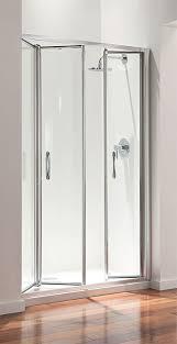 coram premier 1200mm tri fold shower door victorian plumbing co