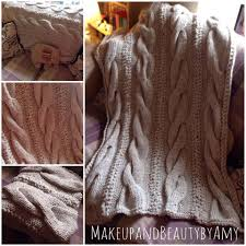 Cable Knit Blanket Pattern New Ideas