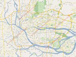 city street map of guangzhou hotels linkable on the map