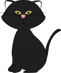 halloween black cat cute. Fine Halloween Halloween Black Cat Clipart  Library  Free Images Intended Cute A