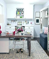 home office office. Transitional Home Office And Craft Room Ideas . C