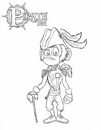 Small Picture Coloring Page Coloring Page Handipoints Pirate Pirate Coloring