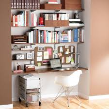 home office shelves ideas. sand u0026 platinum elfa home office shelving shelves ideas